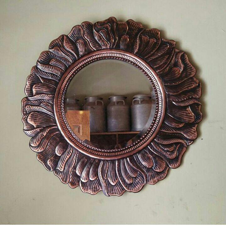 Frame Cermin Tembaga