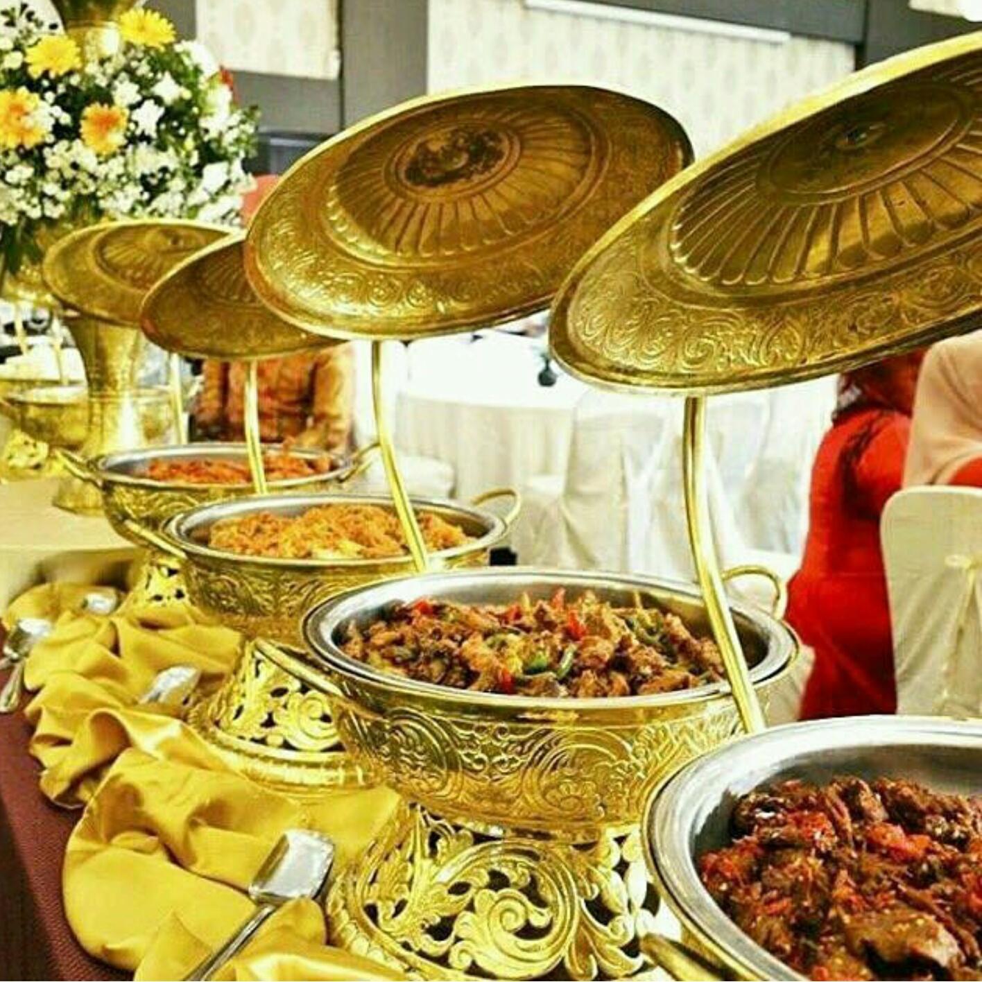 Chaffing dish/Pemanas makanan Kuningan