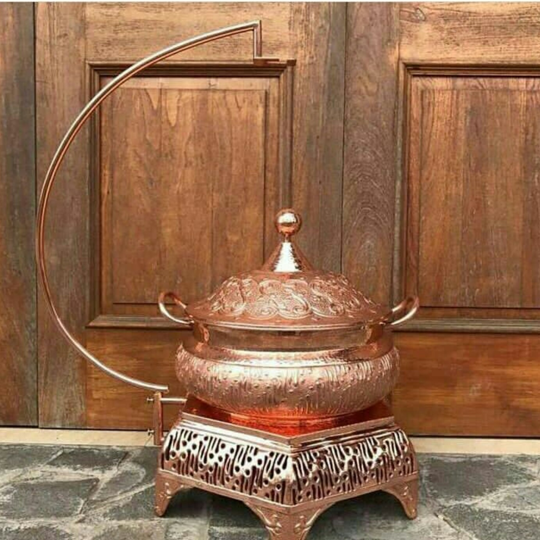 Chaffing Dish / Pemanas Makanan Tembaga