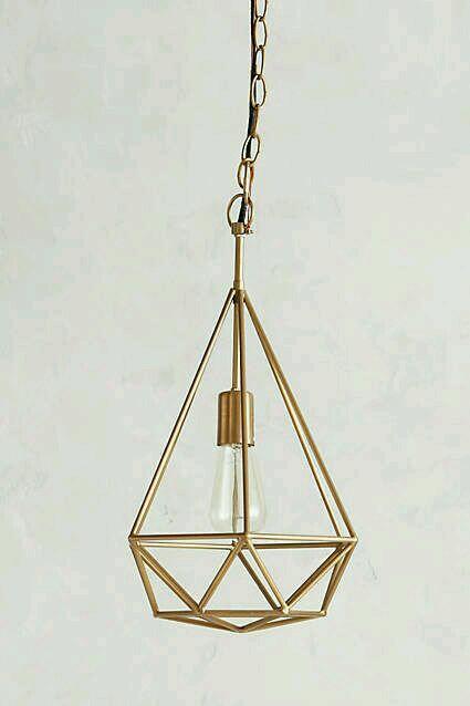 Lampu Diamond Kuningan