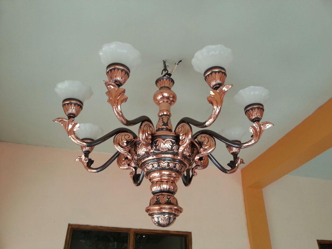 Lampu Robyong Tembaga Kecil