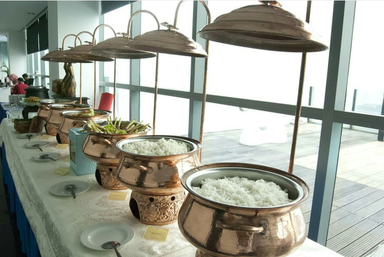 Chafing Dish Tembaga