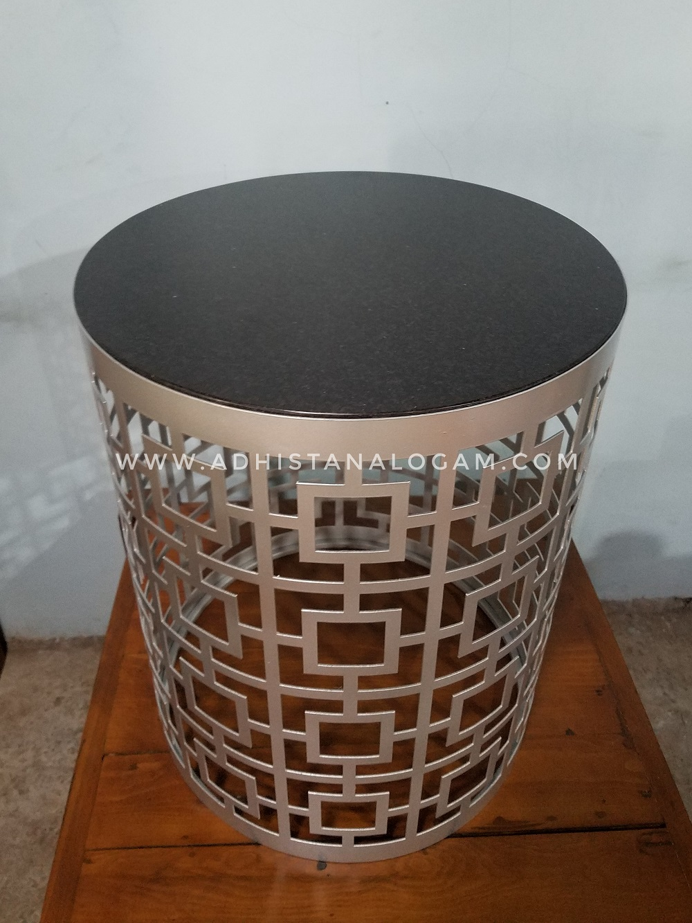 Side Table Cutting Laser Top Marmer