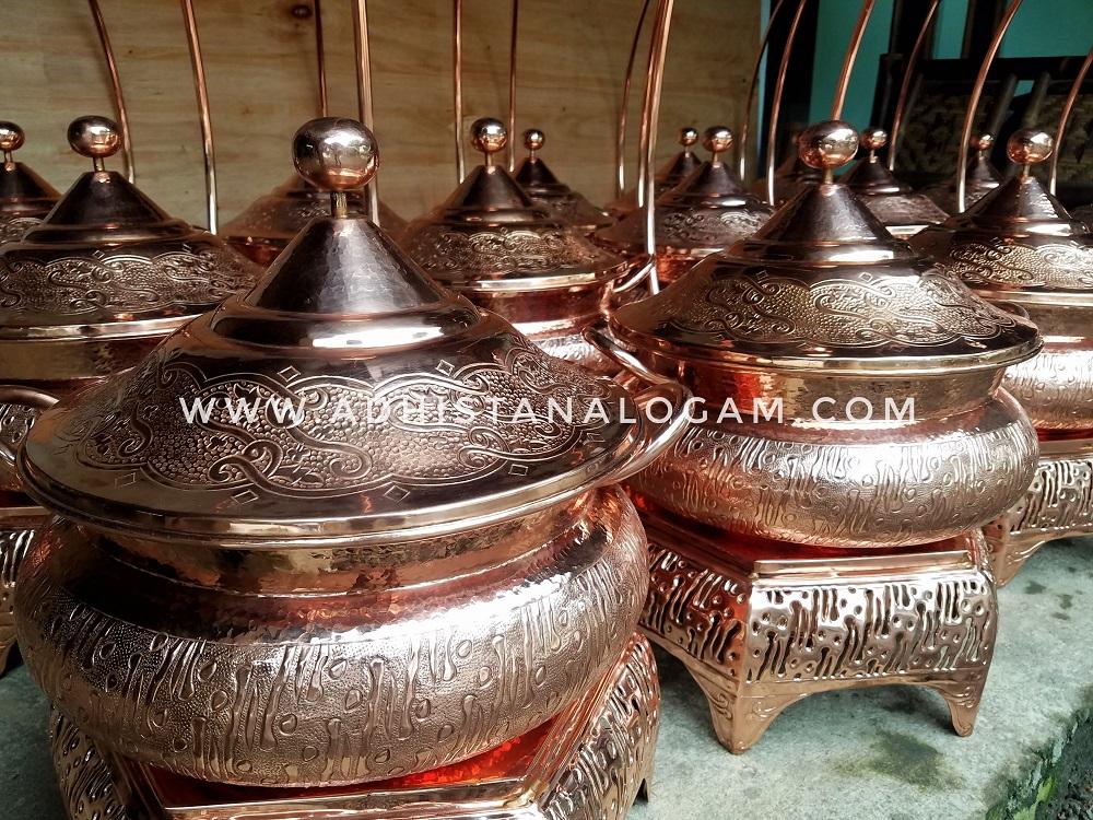 Chafing Dish Batik Tembaga