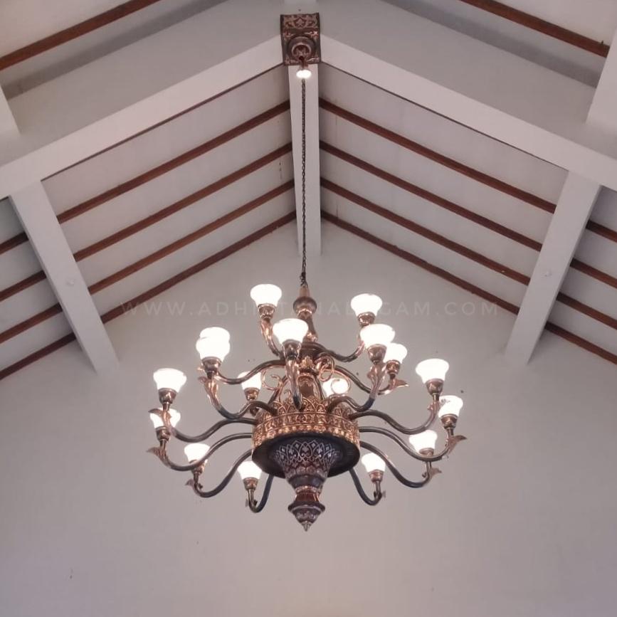 Lampu Robyong Tembaga Klasik