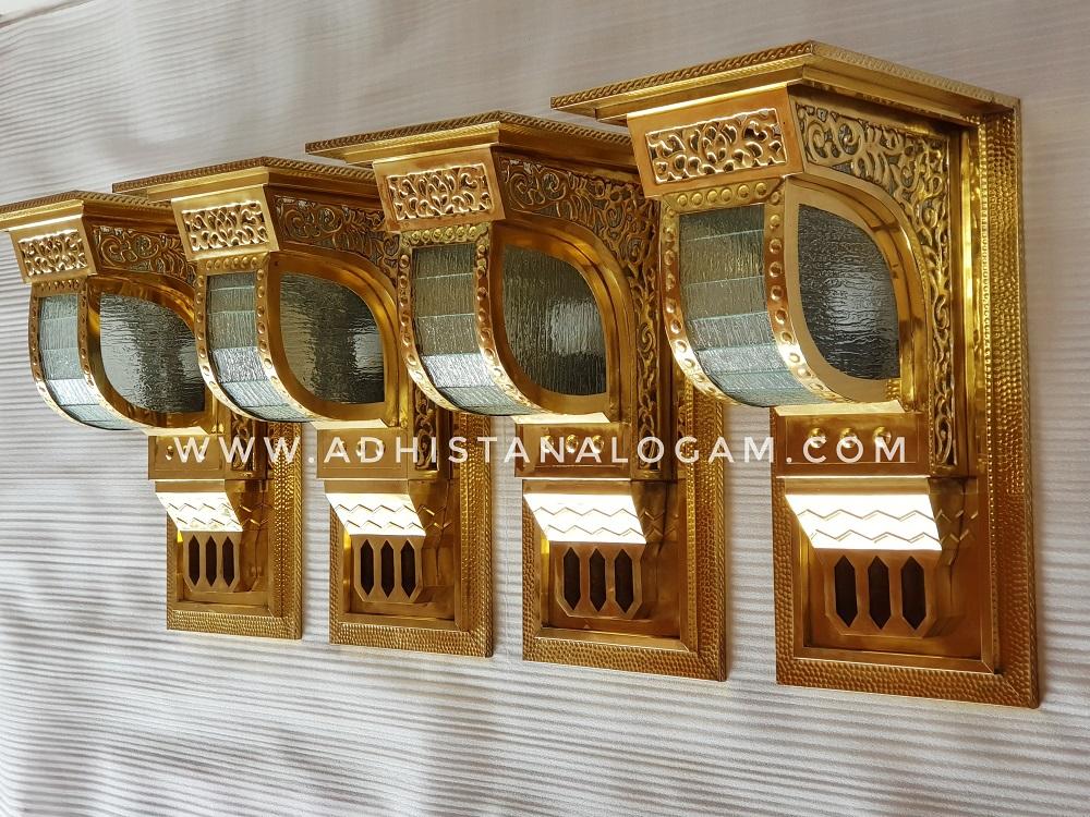 Lampu Pilar Masjid Nabawi